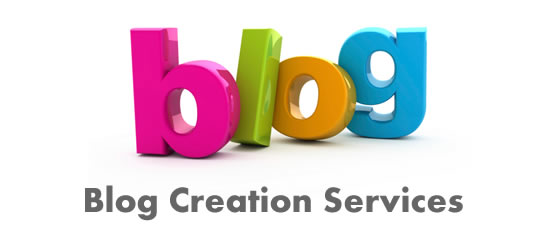 Blog creation services